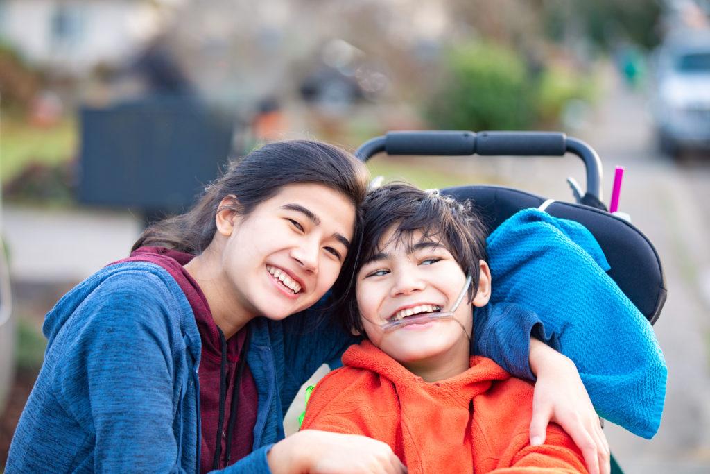 Hilfen für Familien mit behinderten Kindern - Geschwister